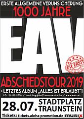 EAV - Abschiedstour Stadtplatz Traunstein