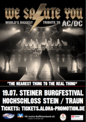 WE SALUTE YOU - THE WORLD BIGGEST TRIBUTE TO ACDC
