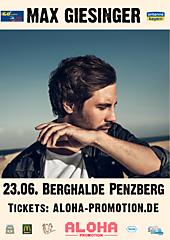 Max Giesinger in Penzberg