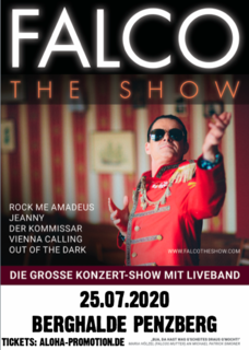 FALCO - THE SHOW / PENZBERG