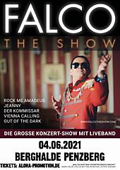 FALCO - THE SHOW / PENZBERG ERSATZTERMIN FÜR 25.07.2020