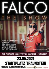 FALCO - THE SHOW / ERSATZTERMIN für 31.05.2020
