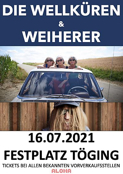 Die Wellküren & Weiherer Ersatztermin für 18.07.2020